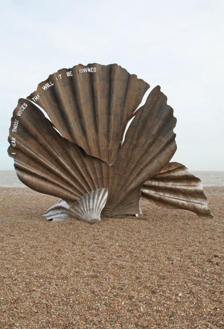 Aldeburgh Shell or Scallop Sculpture