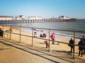 Sunny Southwold Pier