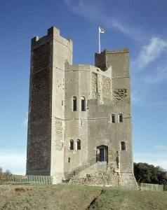 Orford Castle - image from English Heritage