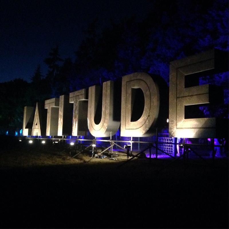 Latitude sign