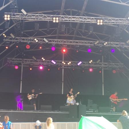 Bessie Turner at Jimmy's Festival