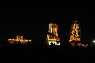 Jimmy's Festival after dark