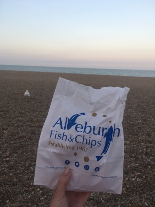 Being a tourist in Aldeburgh for the evening