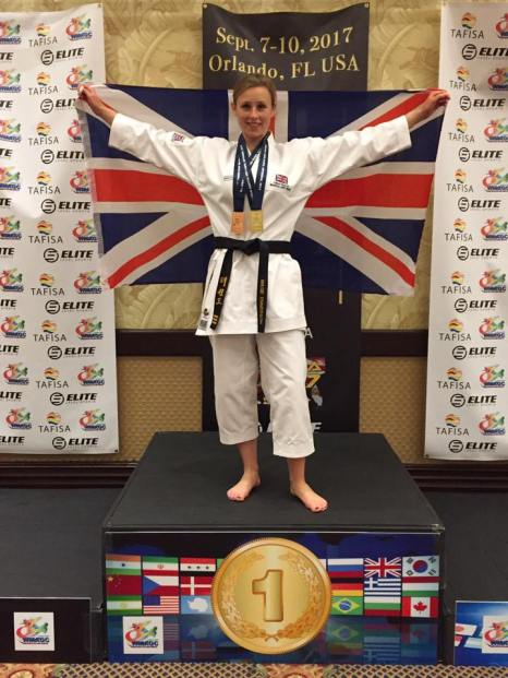 Winning gold in Florida USA
