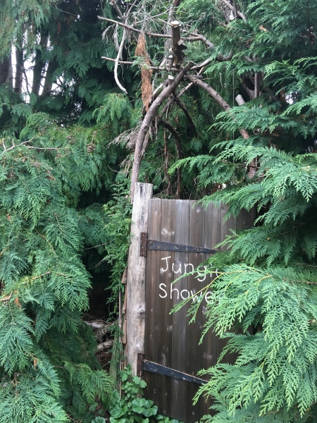 Jungle Shower at Alde Garden Campsite
