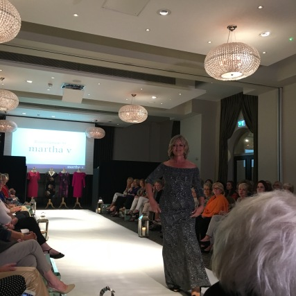 Martha V's autumn preview fashion show