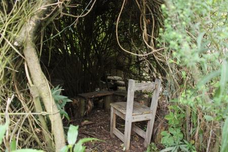 Secret hideaways at Alde Garden Campsite