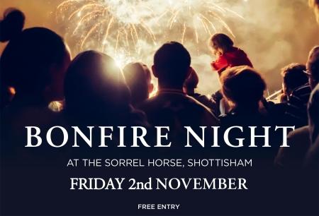 Sorrel Bonfire Night 2018