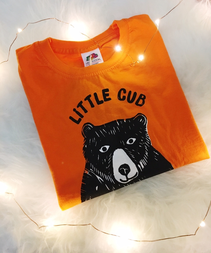 Little Cub t-shirt from Design Smith Studio