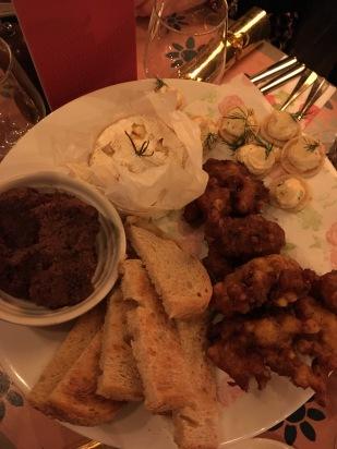 Sharing platter starter