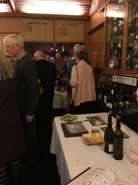 The Man Like Wine and Slate Cheese Tasting Evening