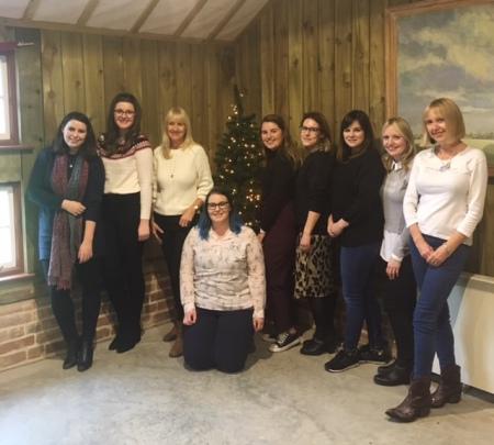 Suffolk Bloggers at Blackthorpe Barn